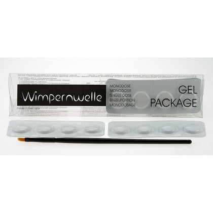 Wimpernwelle Gel-Package Einzelportionen