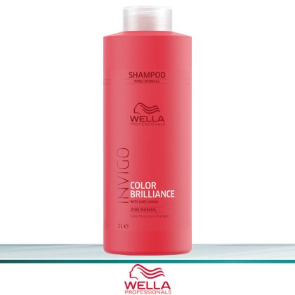 Wella Invigo Color Brilliance Color Protection Shampoo Fine 1000 ml