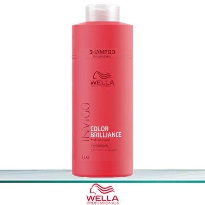 Wella Invigo Color Brilliance Color Protection Shampoo Fine 1 L