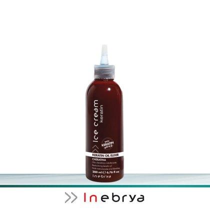 Inebrya Ice Cream Keratin Oil Elixir 200 ml