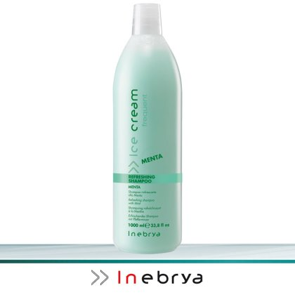 Inebrya Ice Cream Frequent Refreshing Shampoo 1 Liter