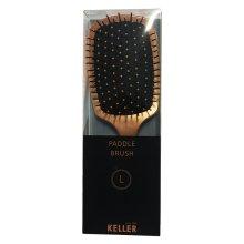 Keller Paddle Brush L gold