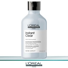 Loreal Serie Expert Instant Clear Shampoo 300 ml