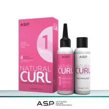 A.S.P Natural Curl Perm + Fix