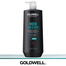 Goldwell Men Hair & Body Shampoo 1 L