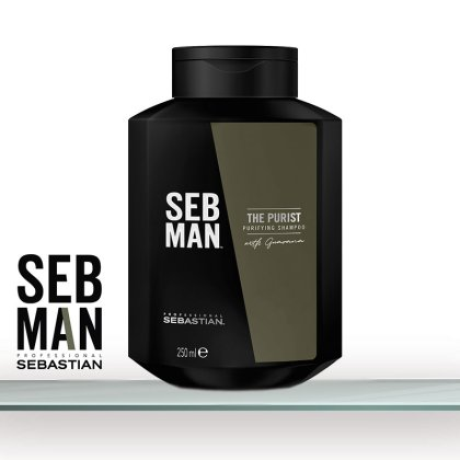 SEB MAN The Purist Shampoo 250ml