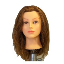Hair-Store Übungskopf hellbraun 40cm