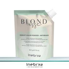 Inebrya Blondesse grünes Blondierpulver Antibrass 500 g