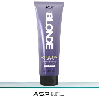 A.S.P System Blonde Anti-Yellow Shampoo 275 ml
