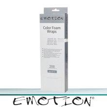 Emotion Color Foam Wraps lang silber