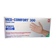 Vinyl Handschuhe MED Comfort 300 100Stück