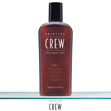 American Crew 3-in-1 Shampoo 100 ml