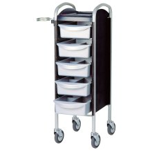 Efalock Piccolo 6002 silver-black High Wheels