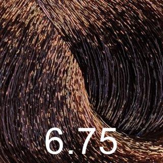 6.75 dunkelblond braun mahagoni